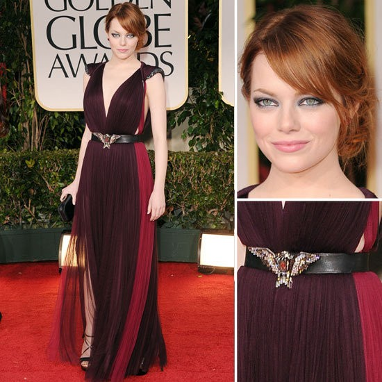 Golden Globes 2012 Fashion Recap (5/5)