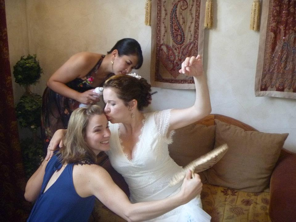 Here Comes The Bride: Tonya's Wedding Hair & Makeup (4/5)